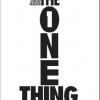 Late post! Week 3, Book 3 – The One Thing